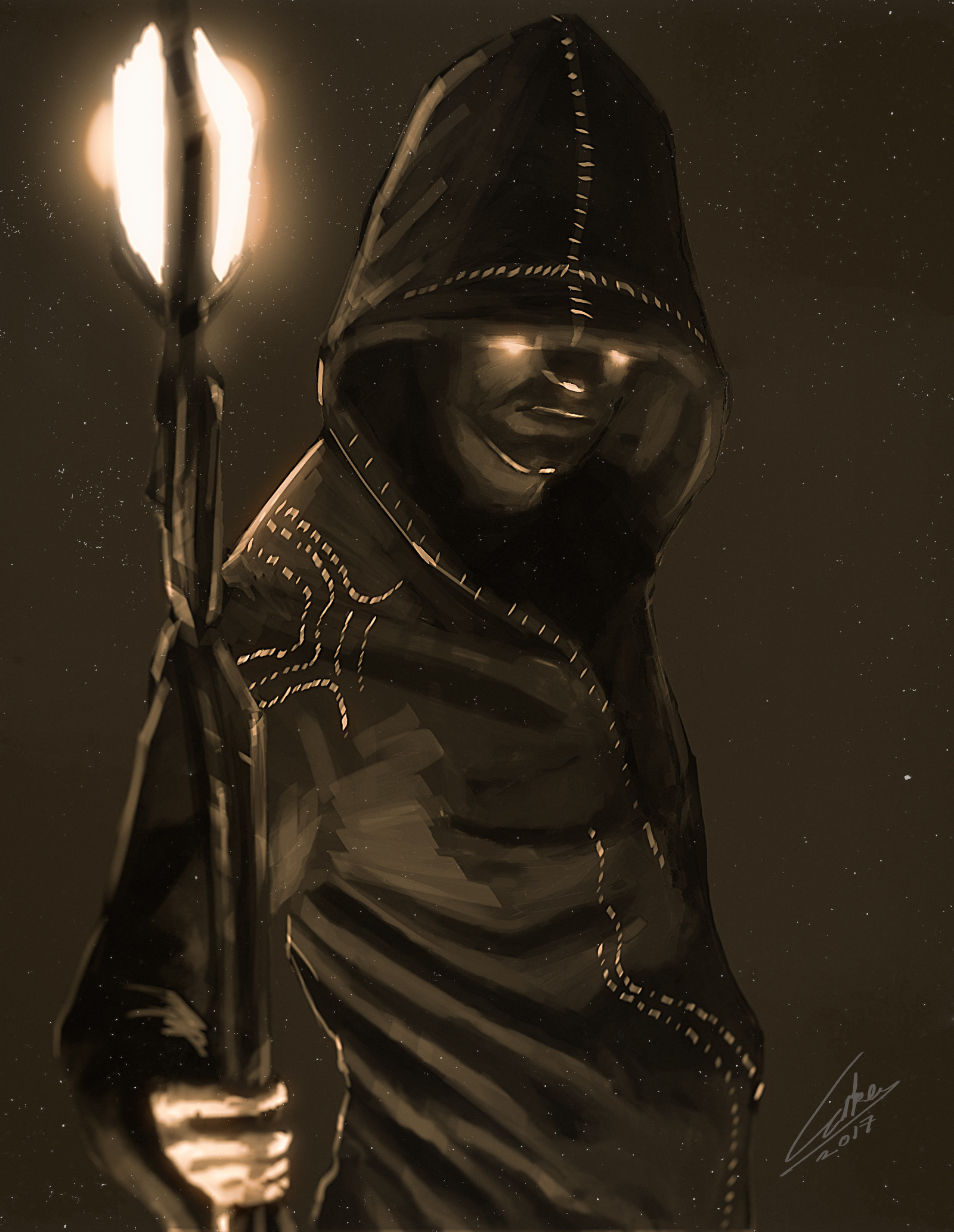 Bugra erke spitpaint demon priest may