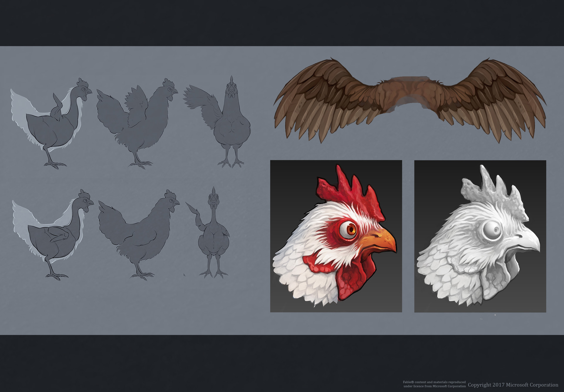 Chicken concept for the Trailer