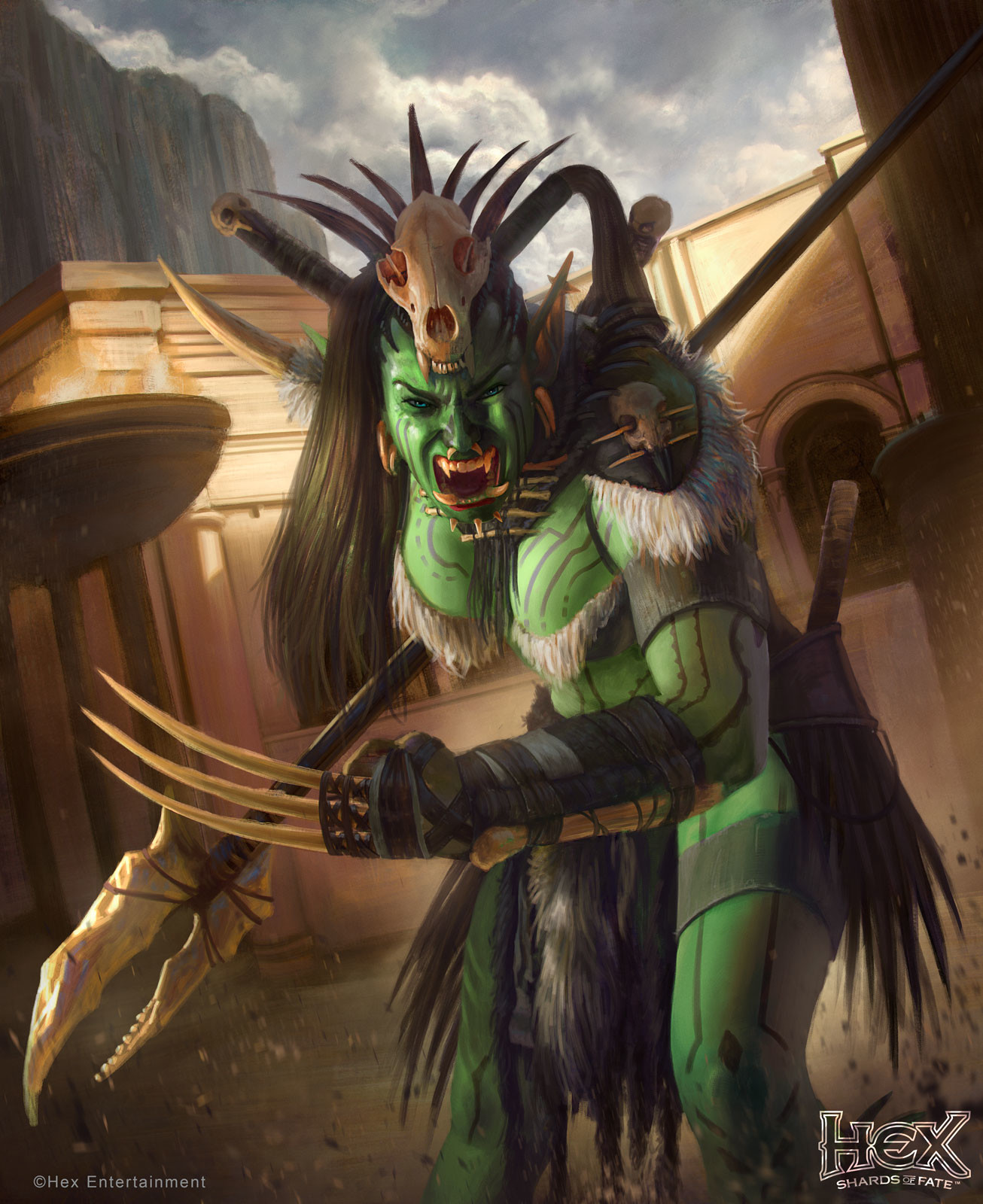 Rafael teruel hex orc female rogue lvl3 by rafater