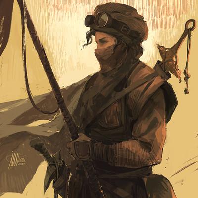 Sina pakzx kasra desert huntress