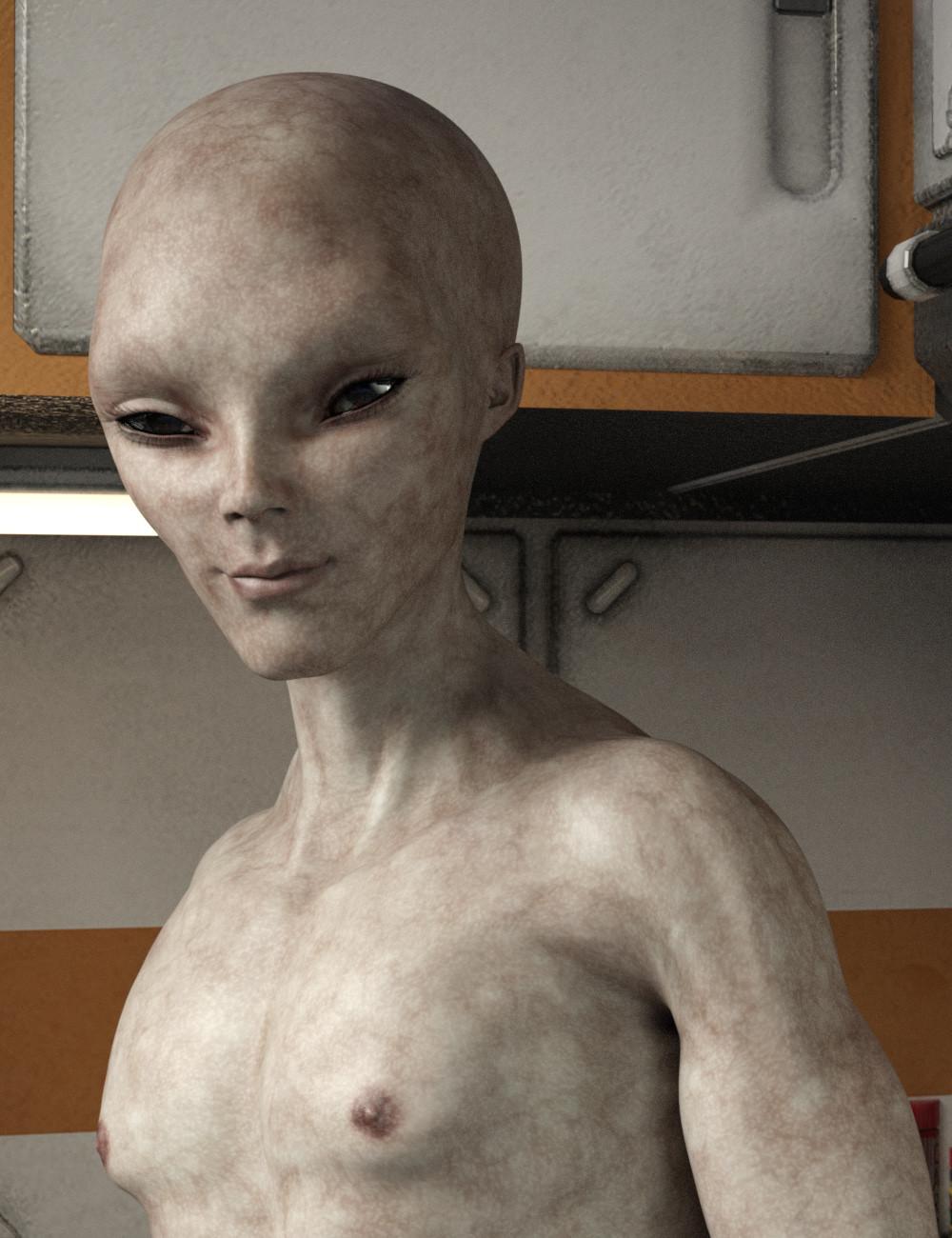 Female grey alien — photo 6