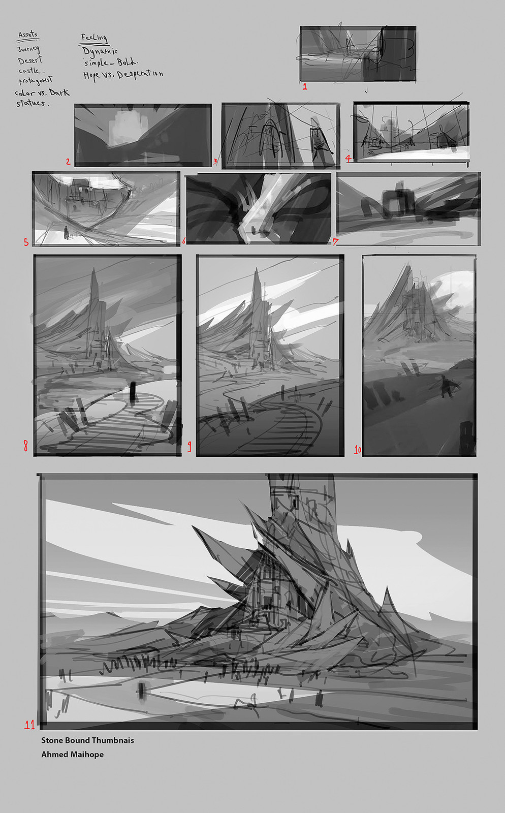 Sketches and Thumbnails