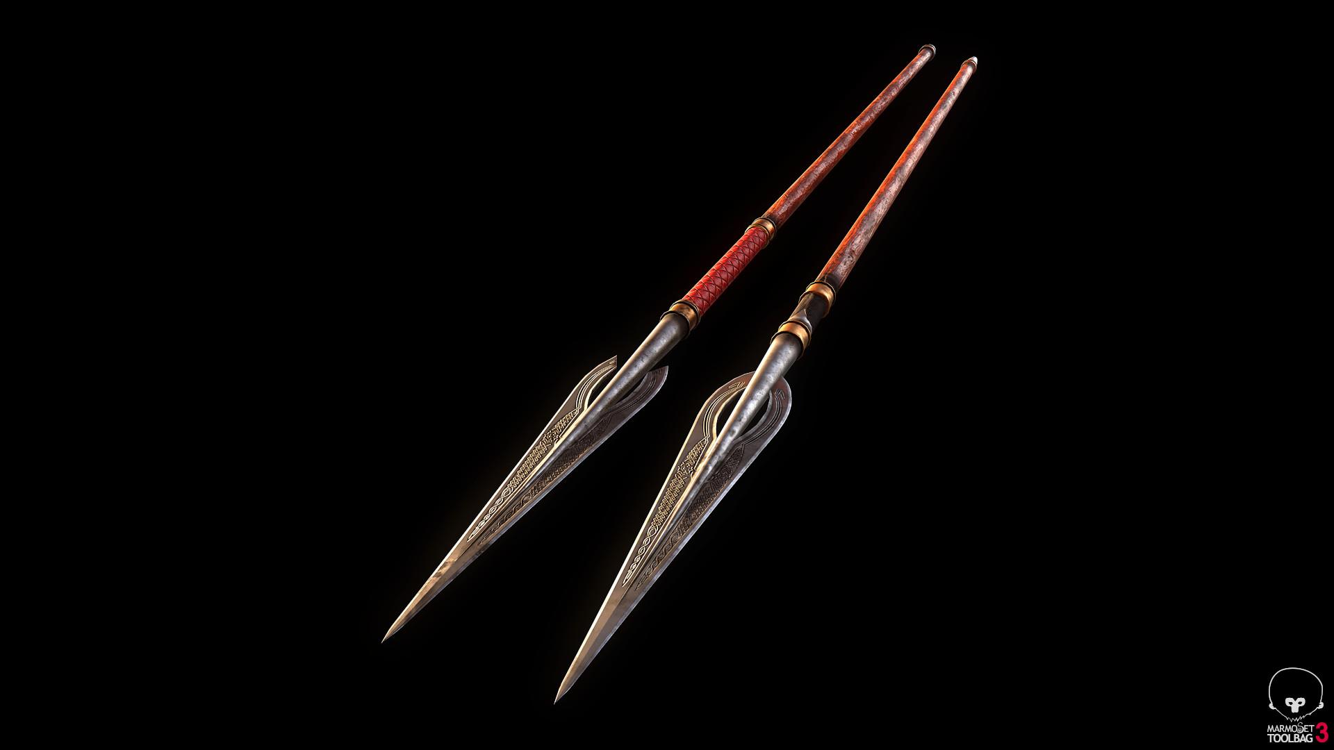 Bela csampai s4h rohan spear ornate 01 render mt 02