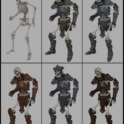 Hwanggyu kim skeletonwarrior001