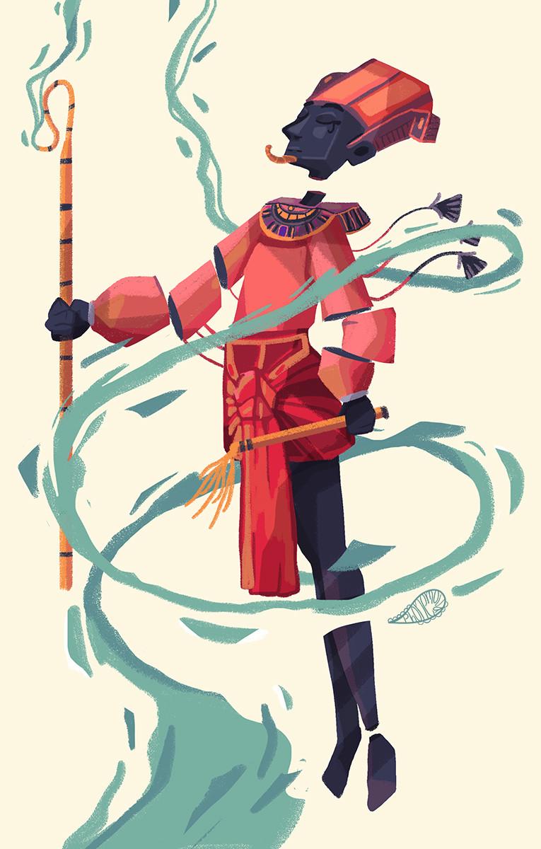 character choosen, Osiris