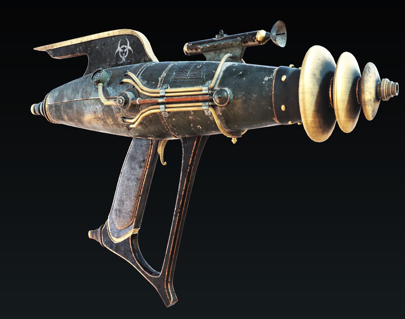 TF2 Dr. Grordbort's / Cyber  Steampunk GUN