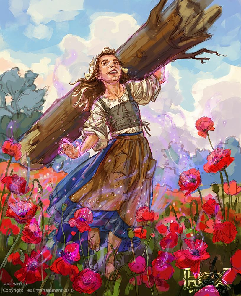 Ekaterina burmak forevers bloom sketch 2