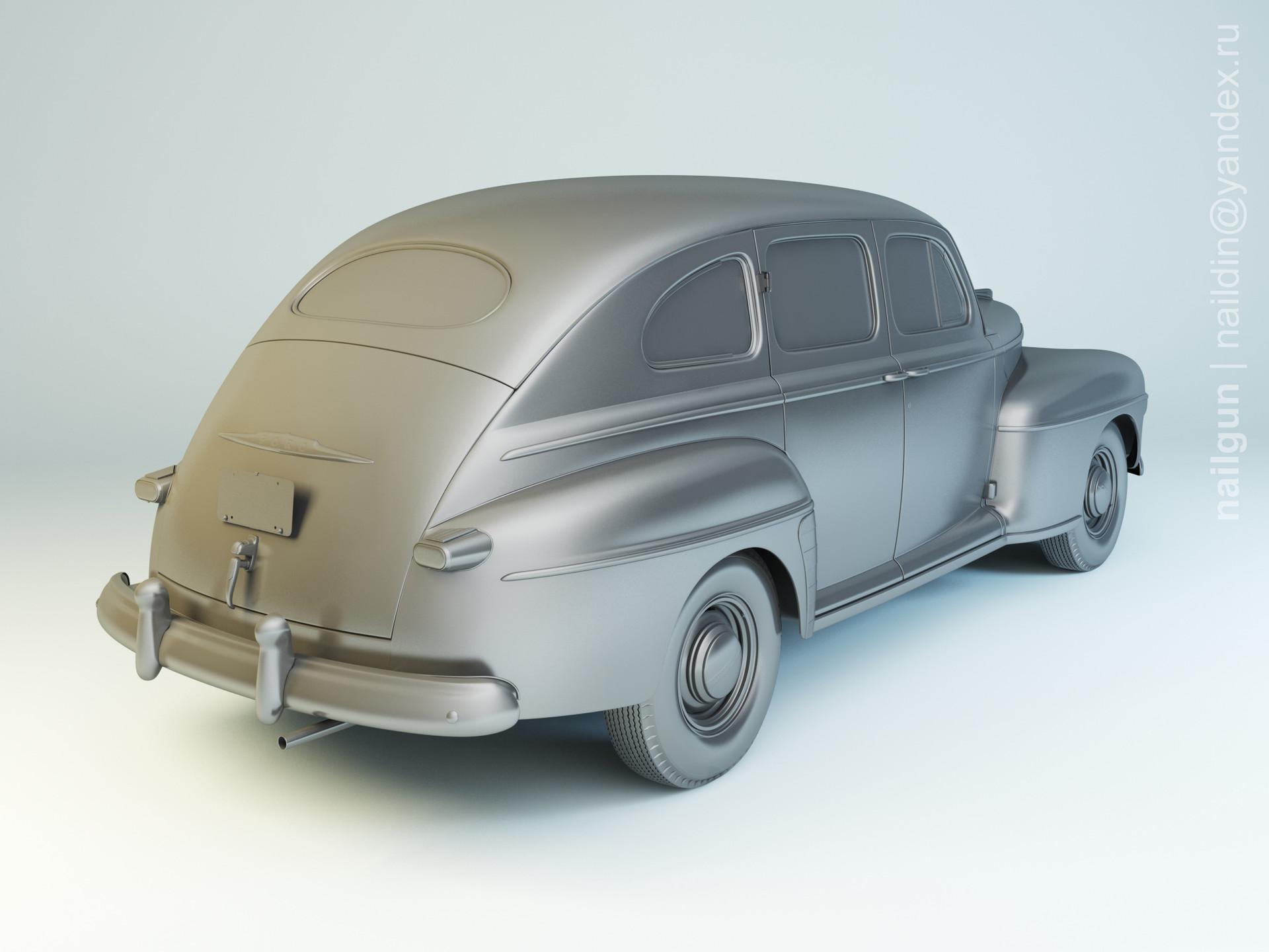 Nail khusnutdinov pwc 050 004 ford fordor modelling 1