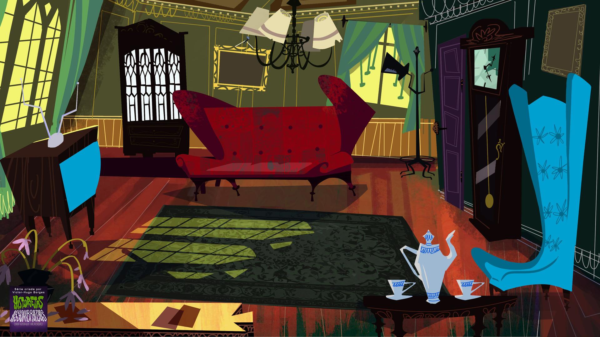 ArtStation - Haunted Tales for Wicked Kids   Cartoon ...