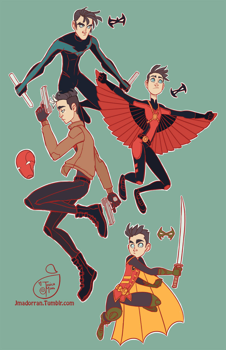 Fan Art - Batman's Robins