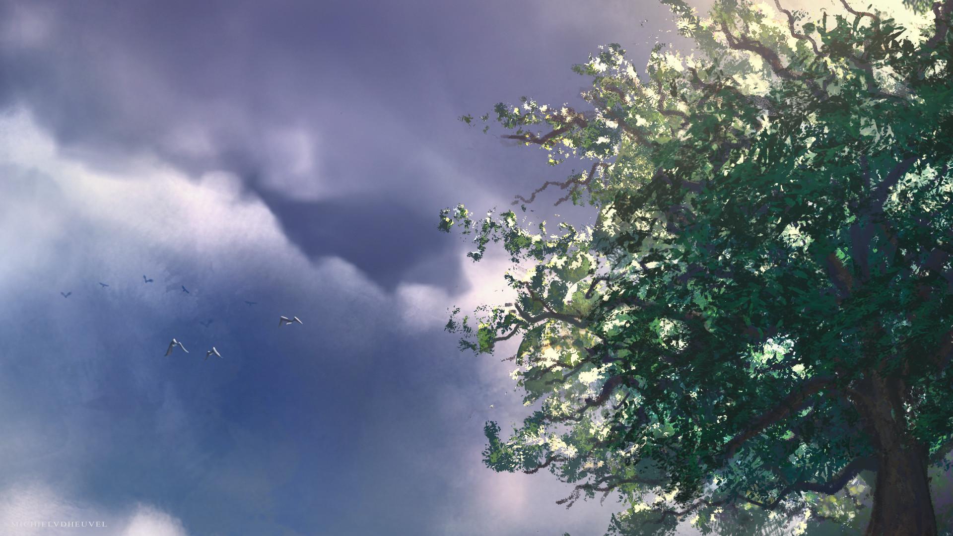 Michiel van den heuvel treelight
