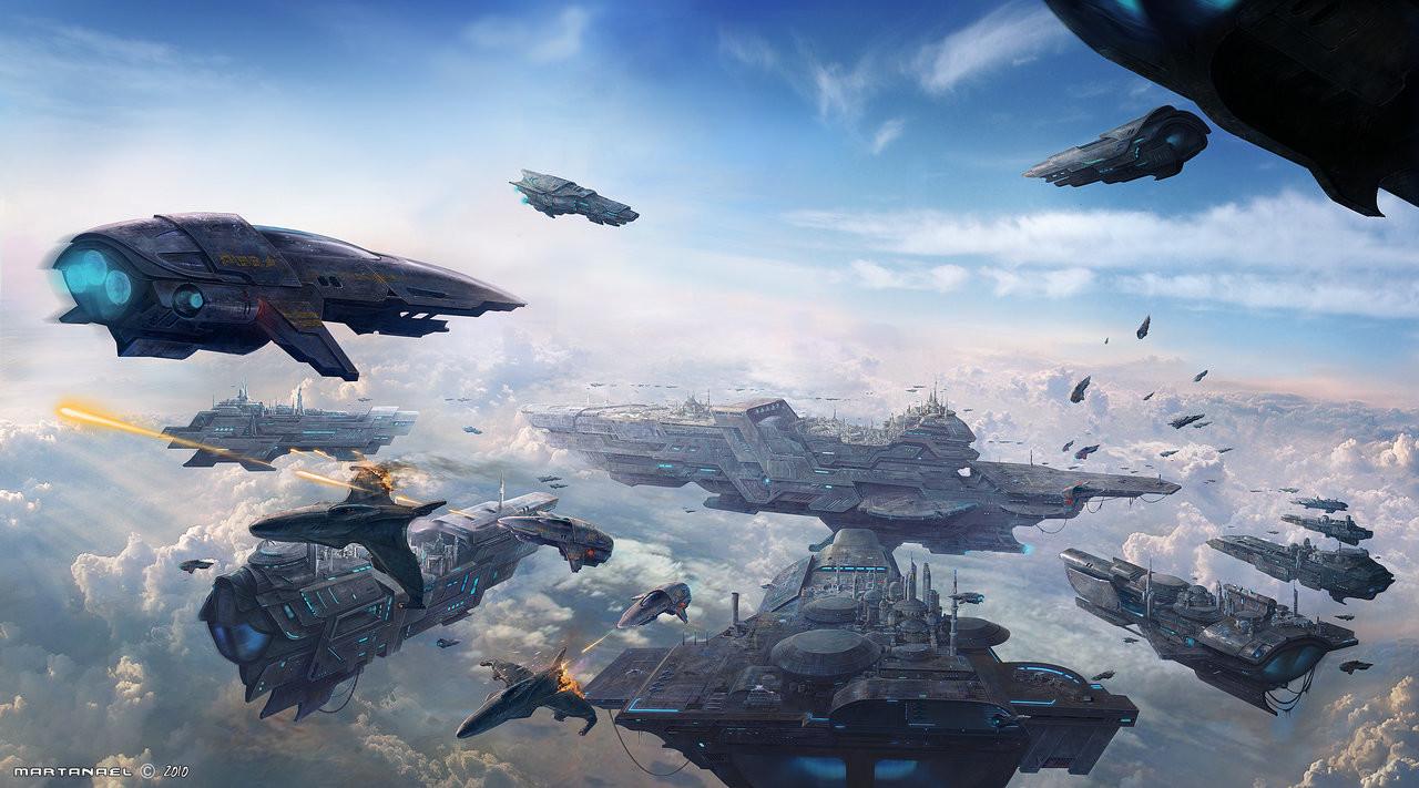 Spaceships Skycity