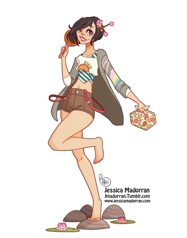 Character Design - Japan Inspired Character 01