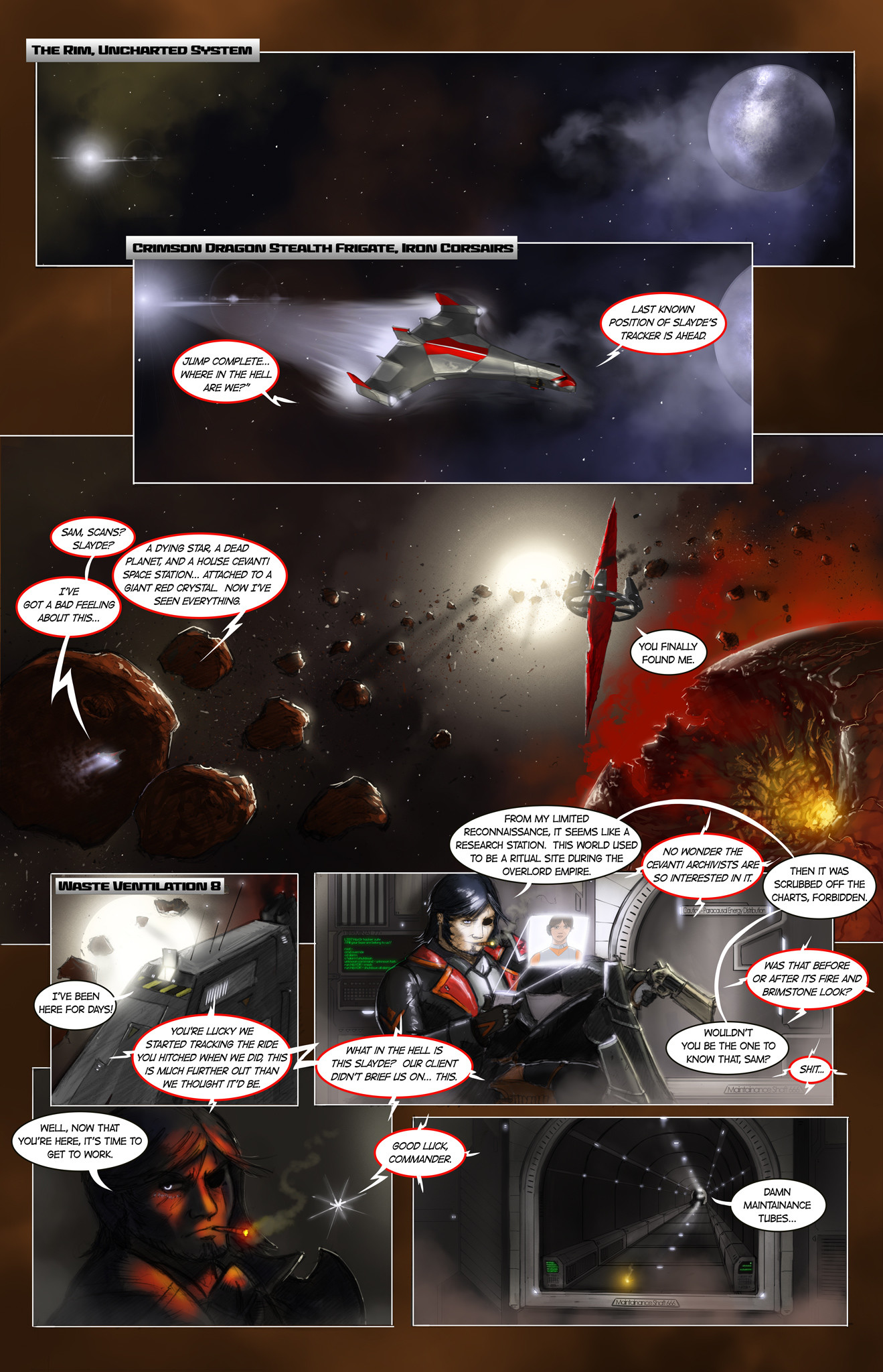 Michael rookard chapter1 page1