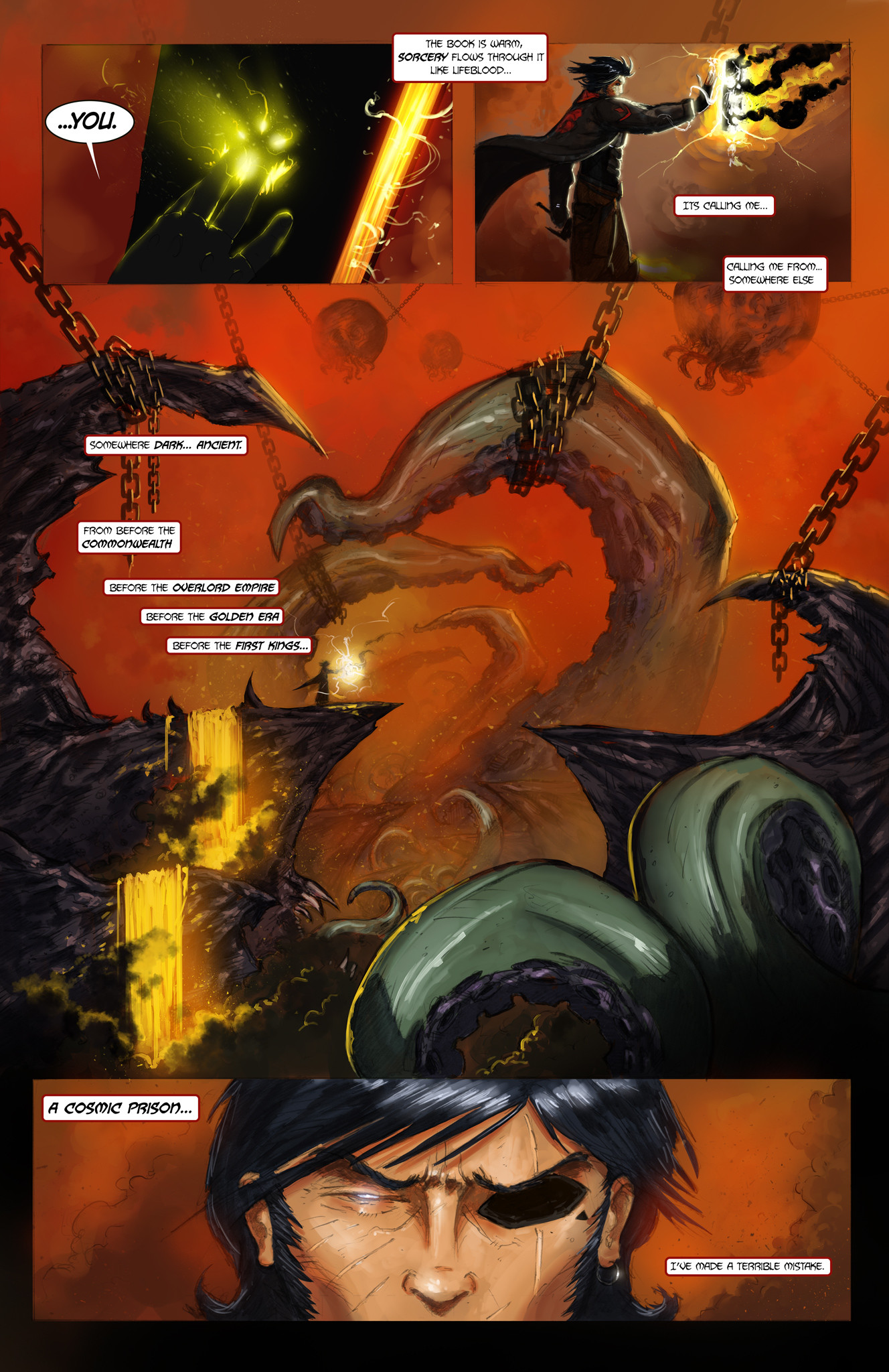 Michael rookard chapter1 page3 5