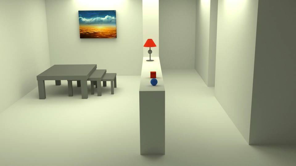 Simple Interior modeling