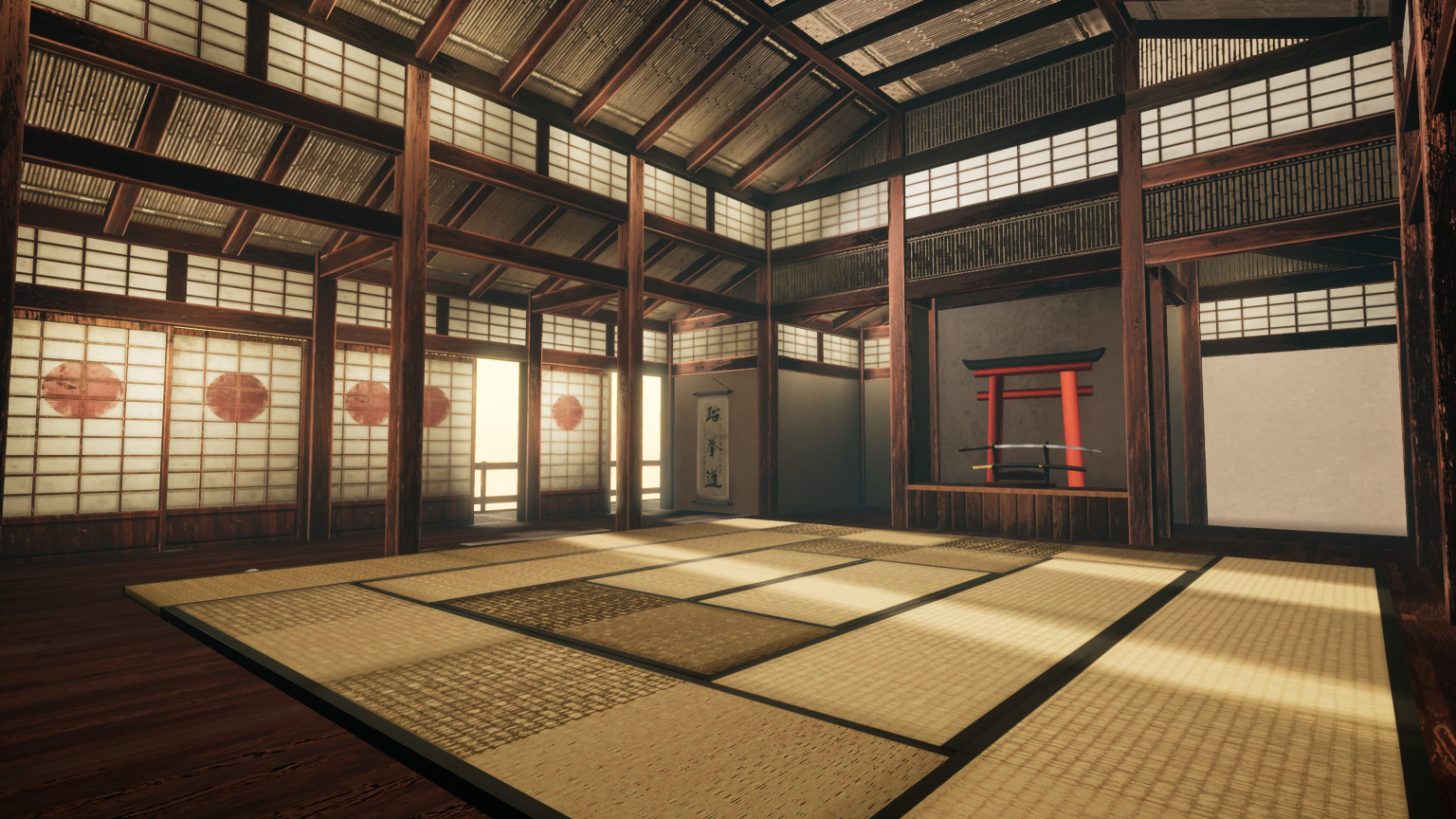 Matsumoto Castle Dojo located on Japan Chubu in Second ...