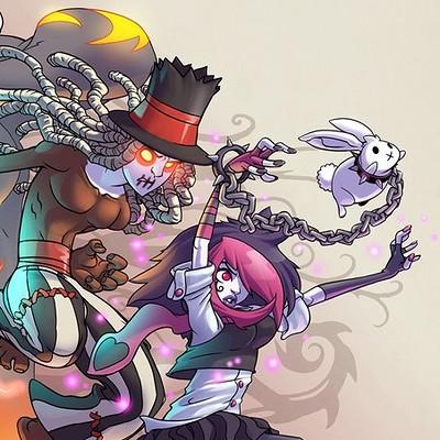Mar hernandez art doodle hex 2 promo art