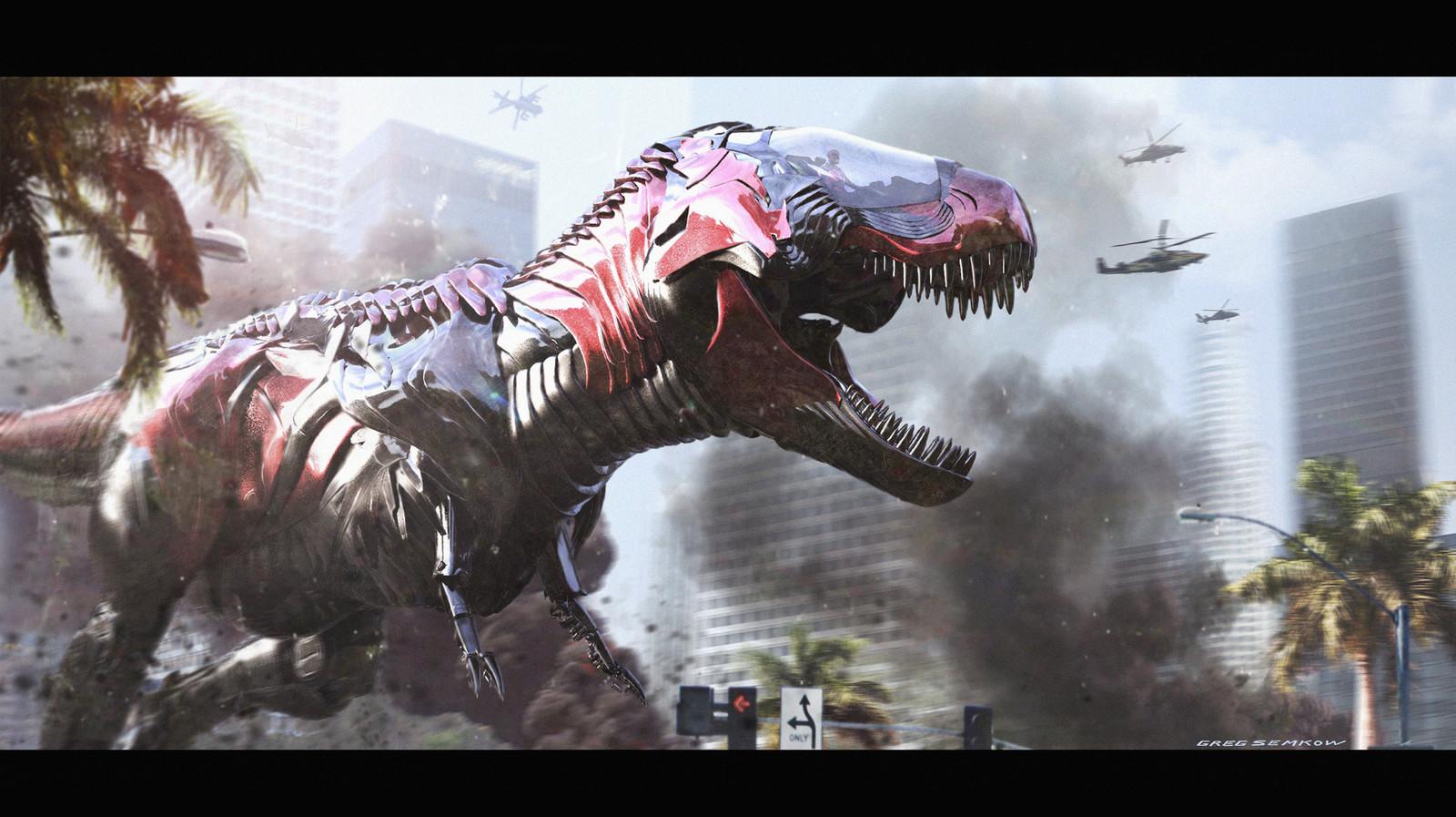 T-Rex Zord