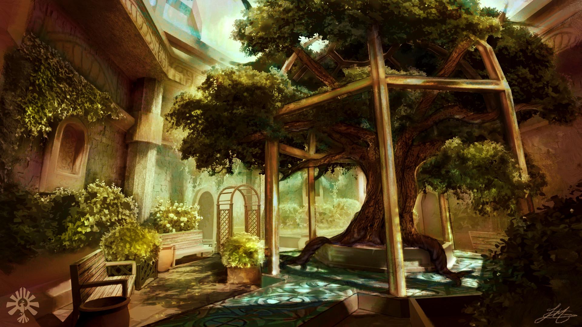 Taylor Ann McCleave - The Sacred Garden