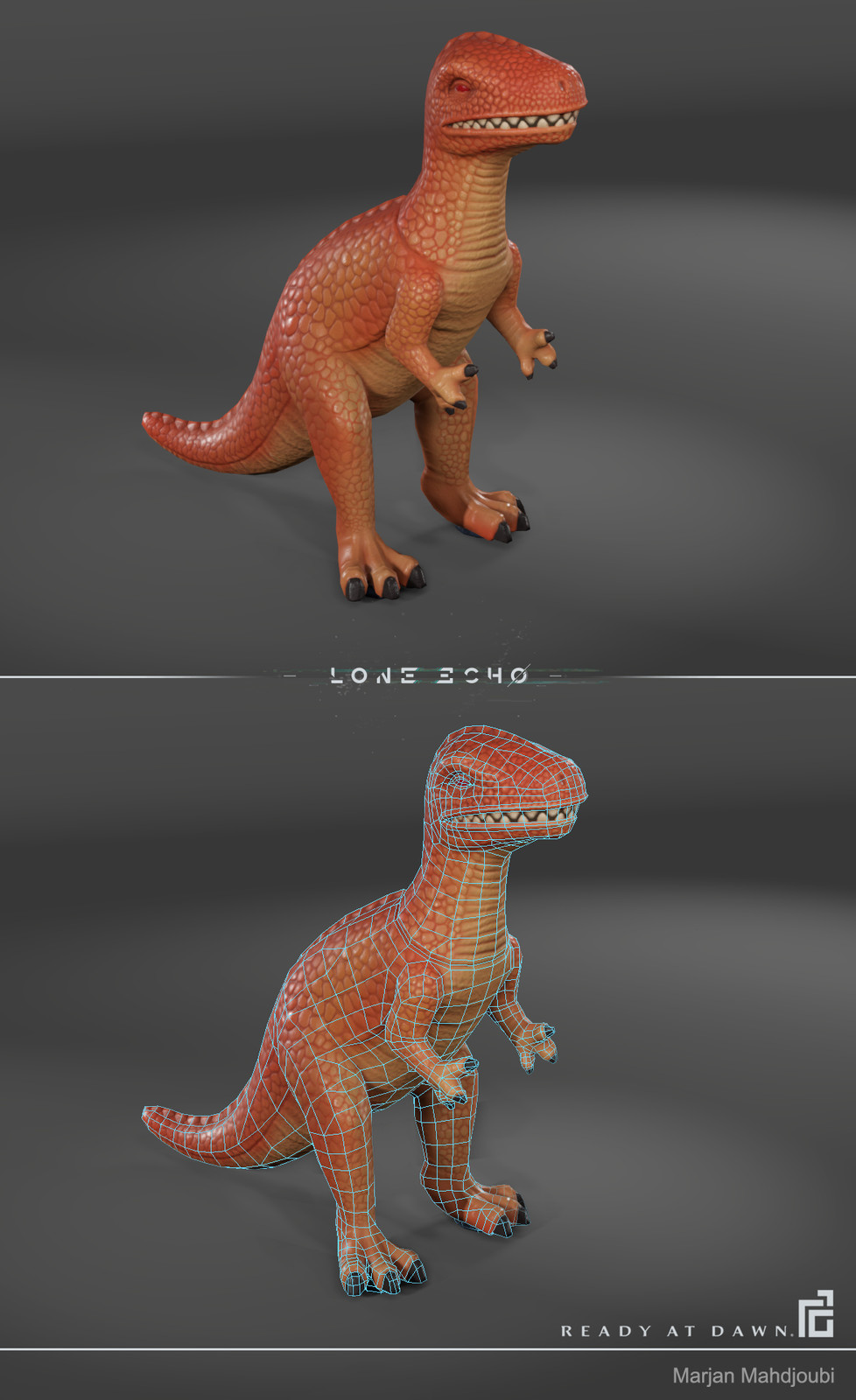 Toy Dino - In Game Render