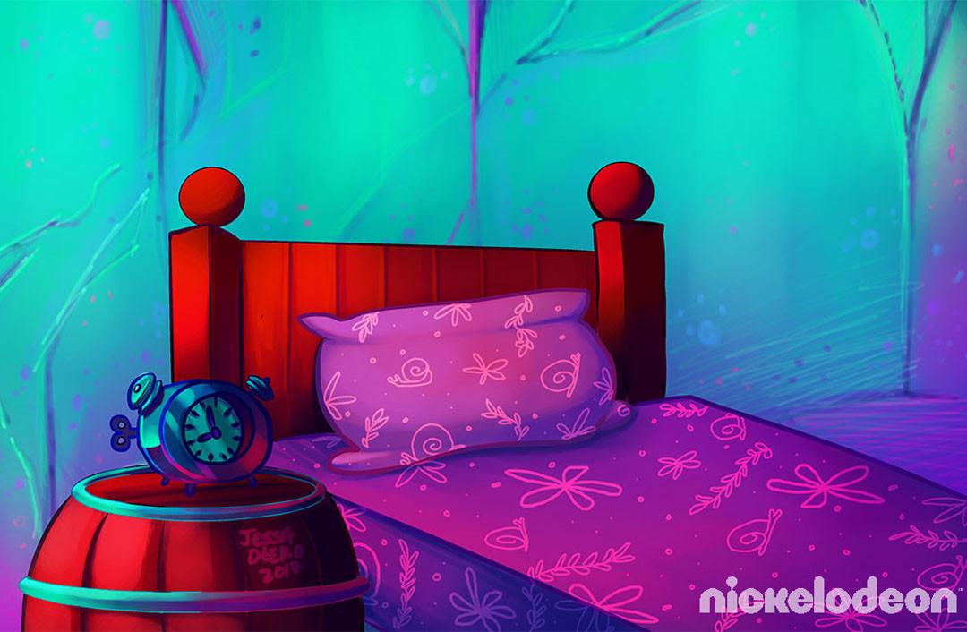 Jessa Otero - SpongeBob Underwater Backgrounds