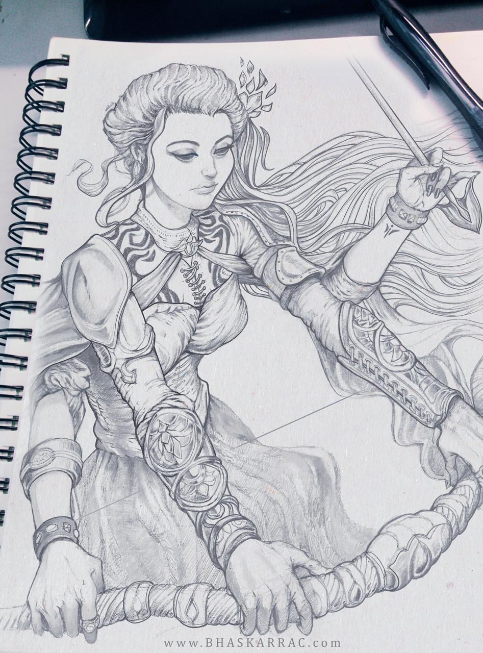 Raw sketch