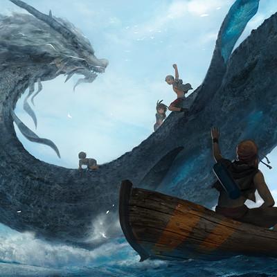 Lee kent water dragon