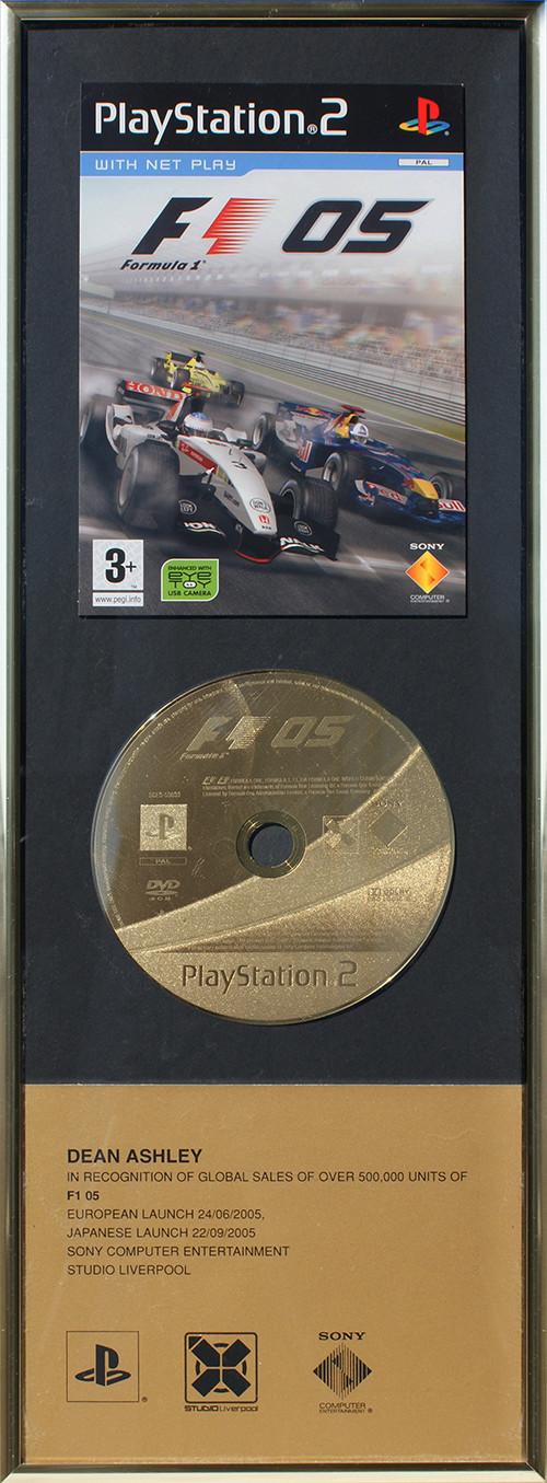 Sony F1 '05 - Sales
