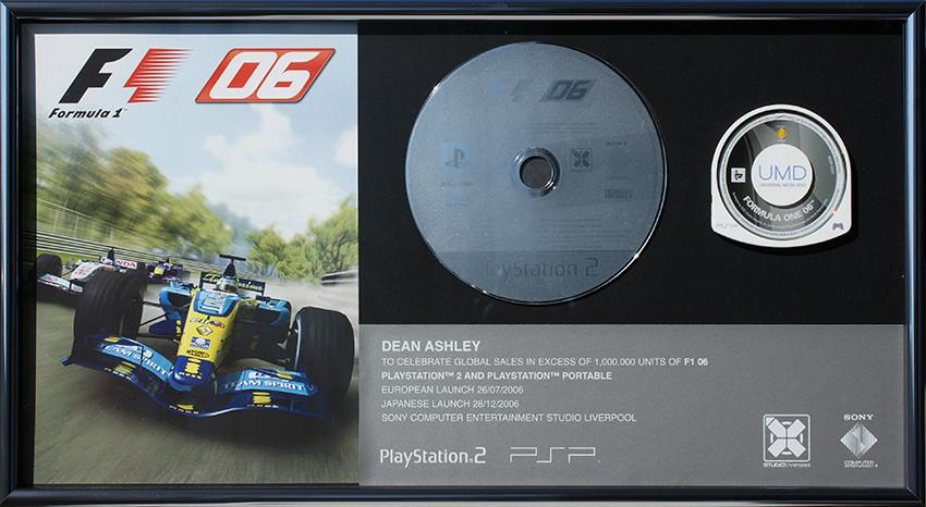 Sony F1 '06 - Sales