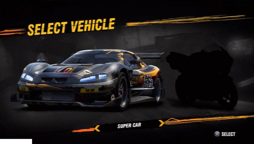 MotorStorm Apocalypse E3 Demo Vehicle Select