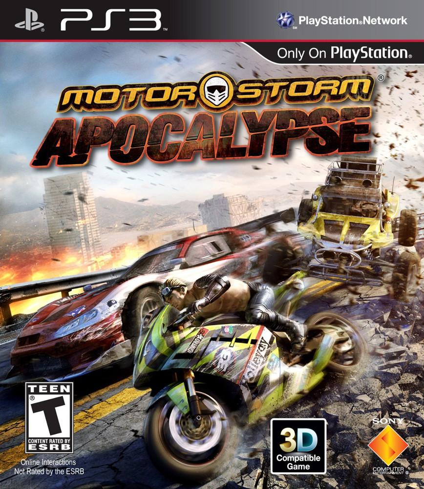 MotorStorm Apocalypse Box Art - USA