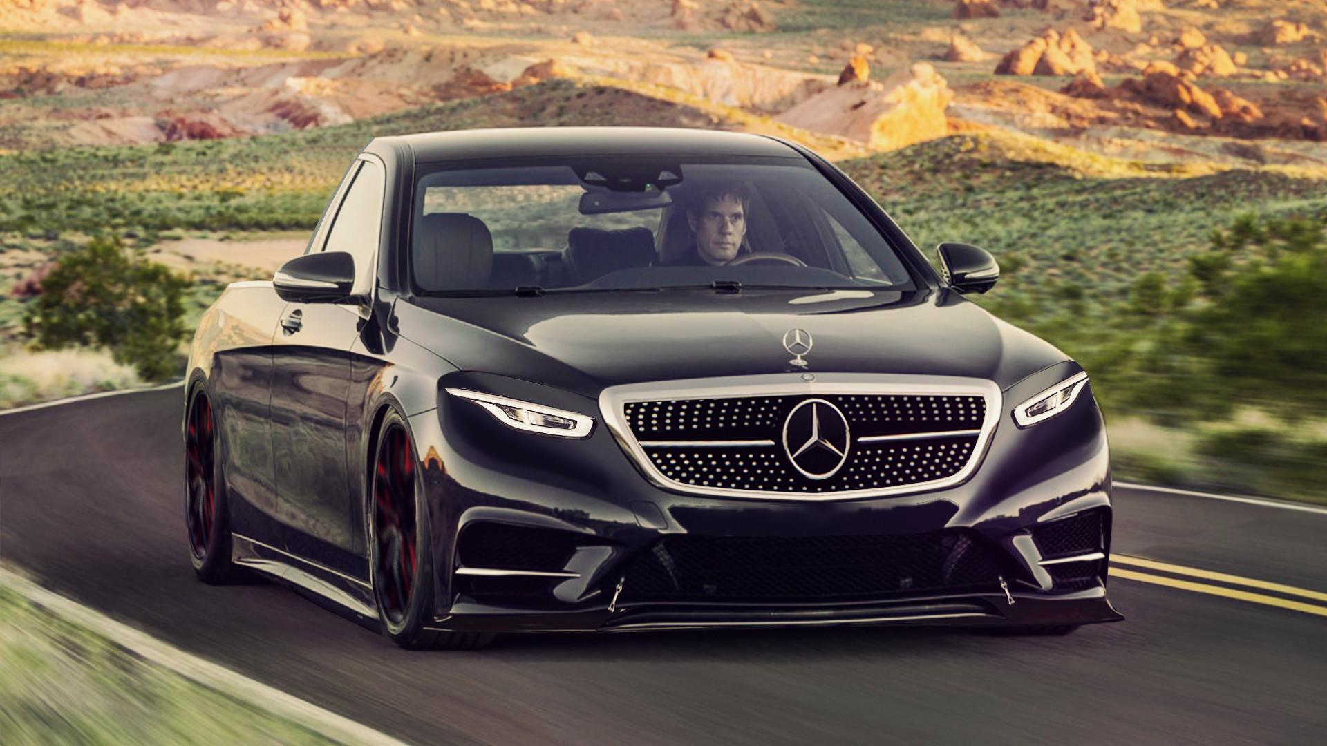 Artstation Mercedes Classe S Pick Up Edition 2019 Ancs Dsgn