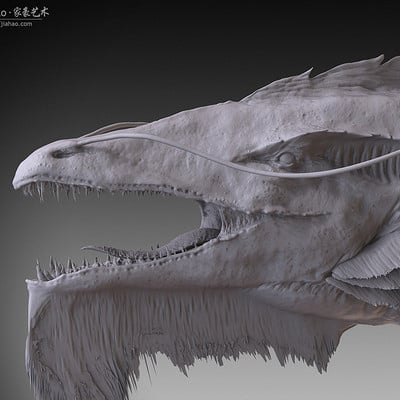Jia hao 2017 agrioragon digitalsculpting 01
