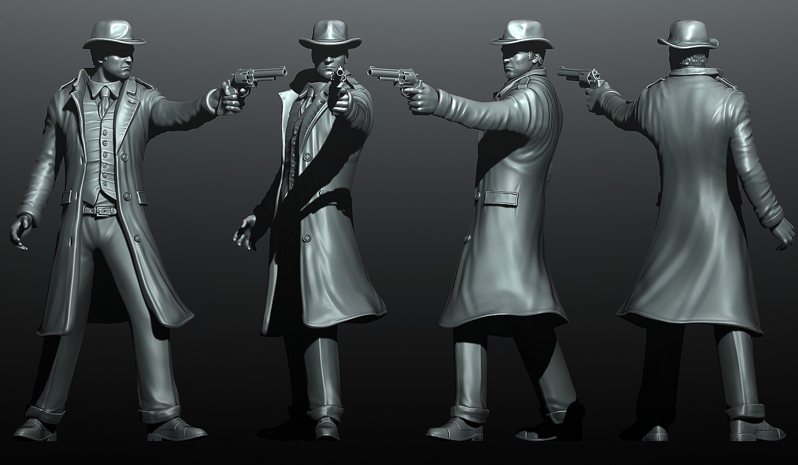 "Detective - ""The Ancient Evil"" boardgame miniature"