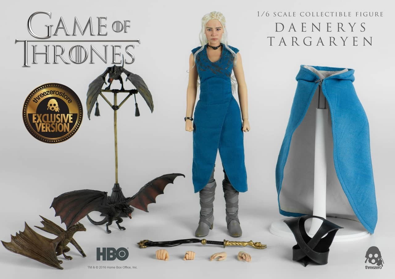 Brodie perkins daenerys targaryen super detailed figure from threezero p34z 1280