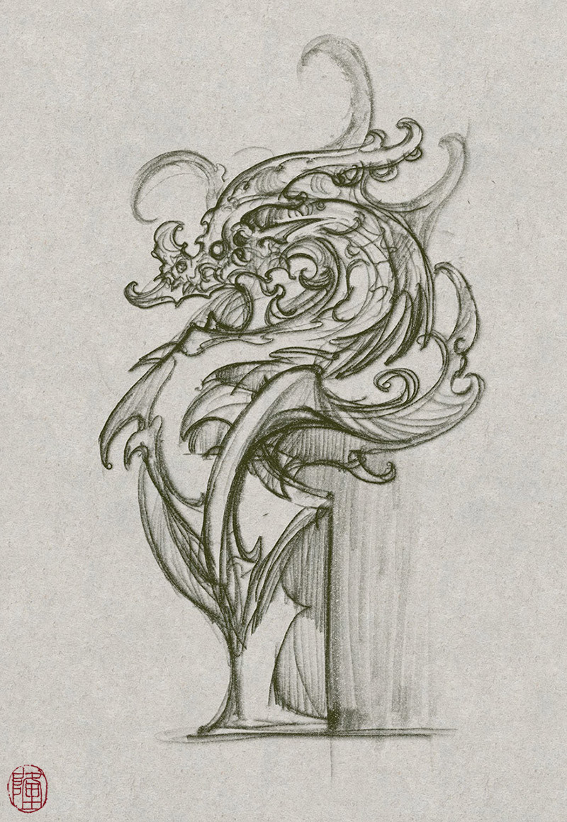 Zhelong xu sketch
