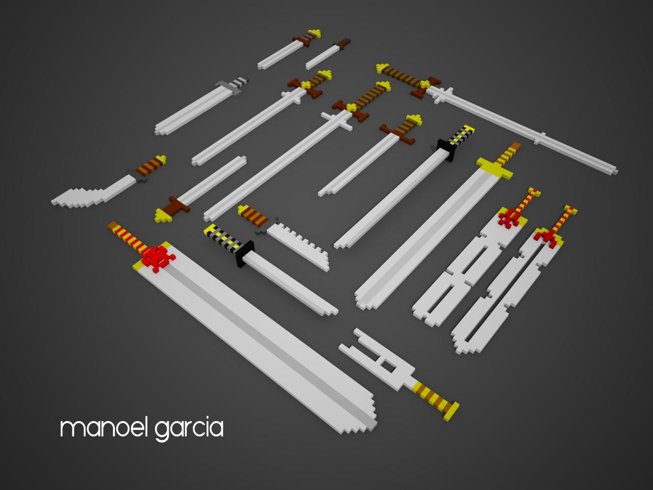 Swords RPG/Medieval Props
