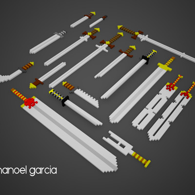 Manoel garcia swords