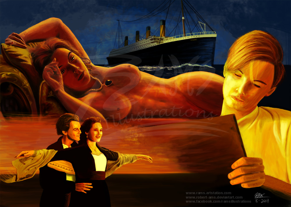 Artstation jack rose titanic robert alejandro - Jack and rose pics ...