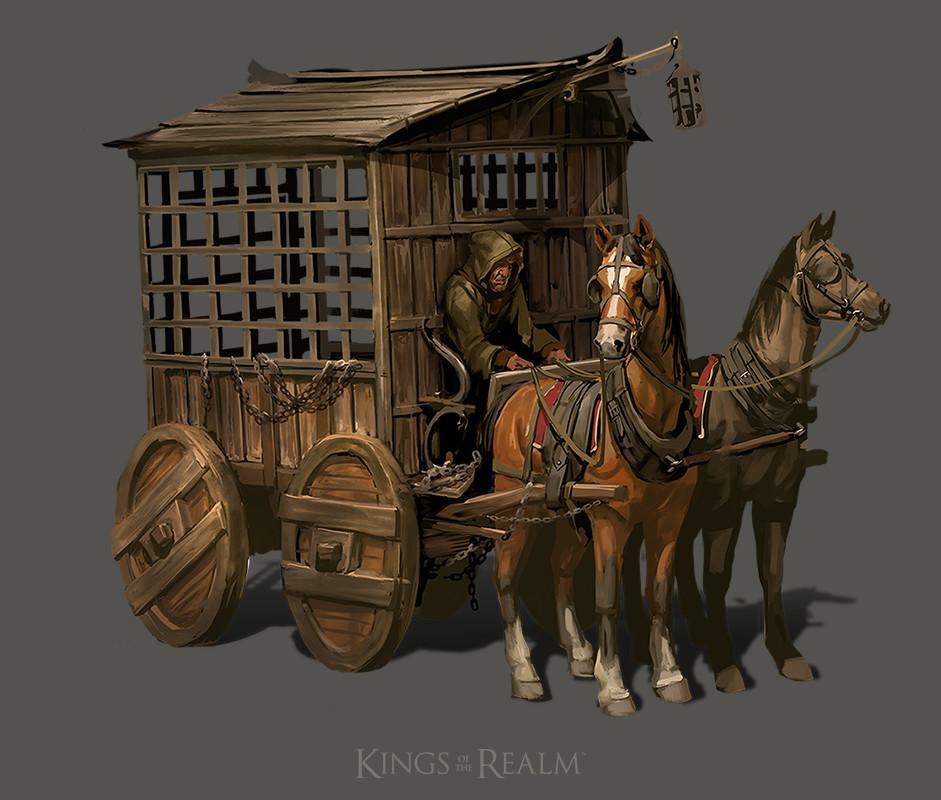 Prison Wagon