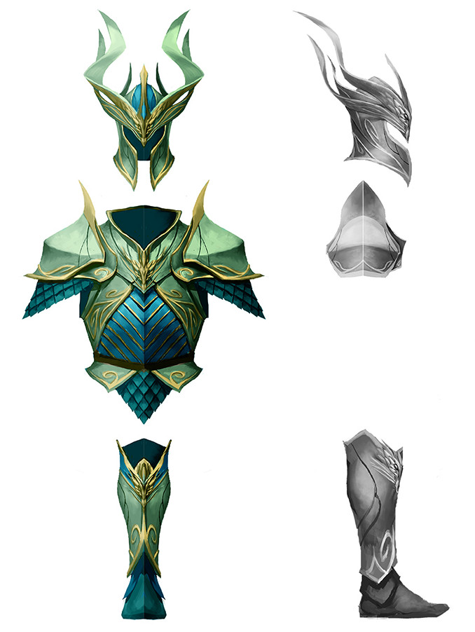 Denman rooke armorconcepts celestial