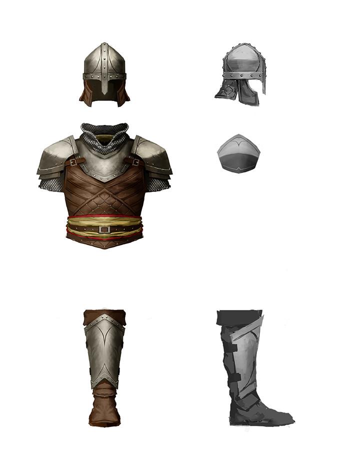 Denman rooke armorconcepts conscript