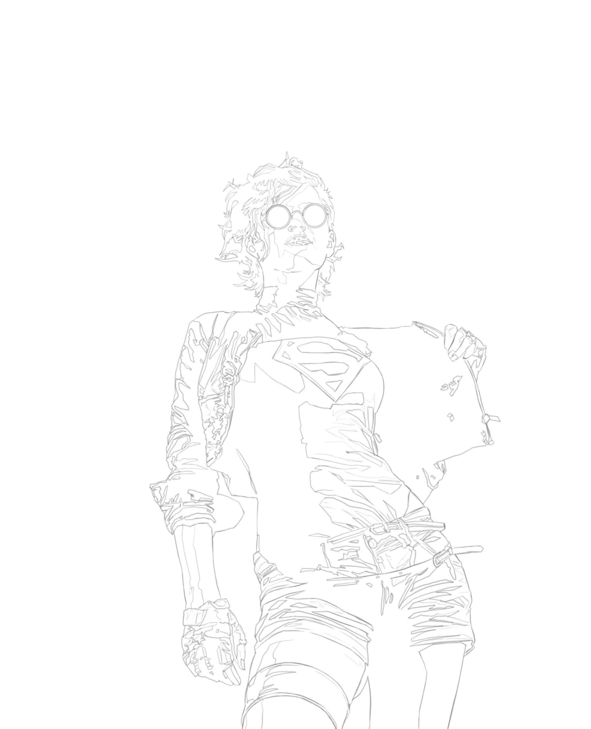 Manuel herrera araya supergirl 1