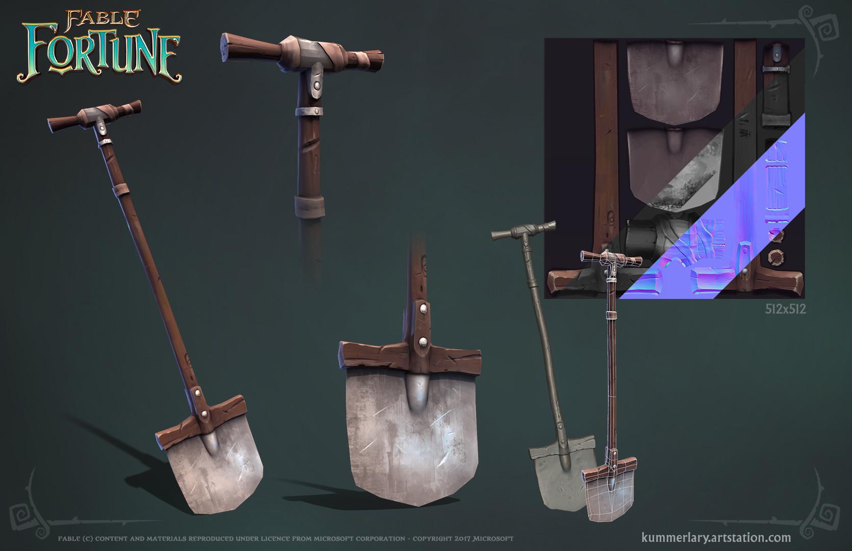 Lary kummer fablefortune shovel