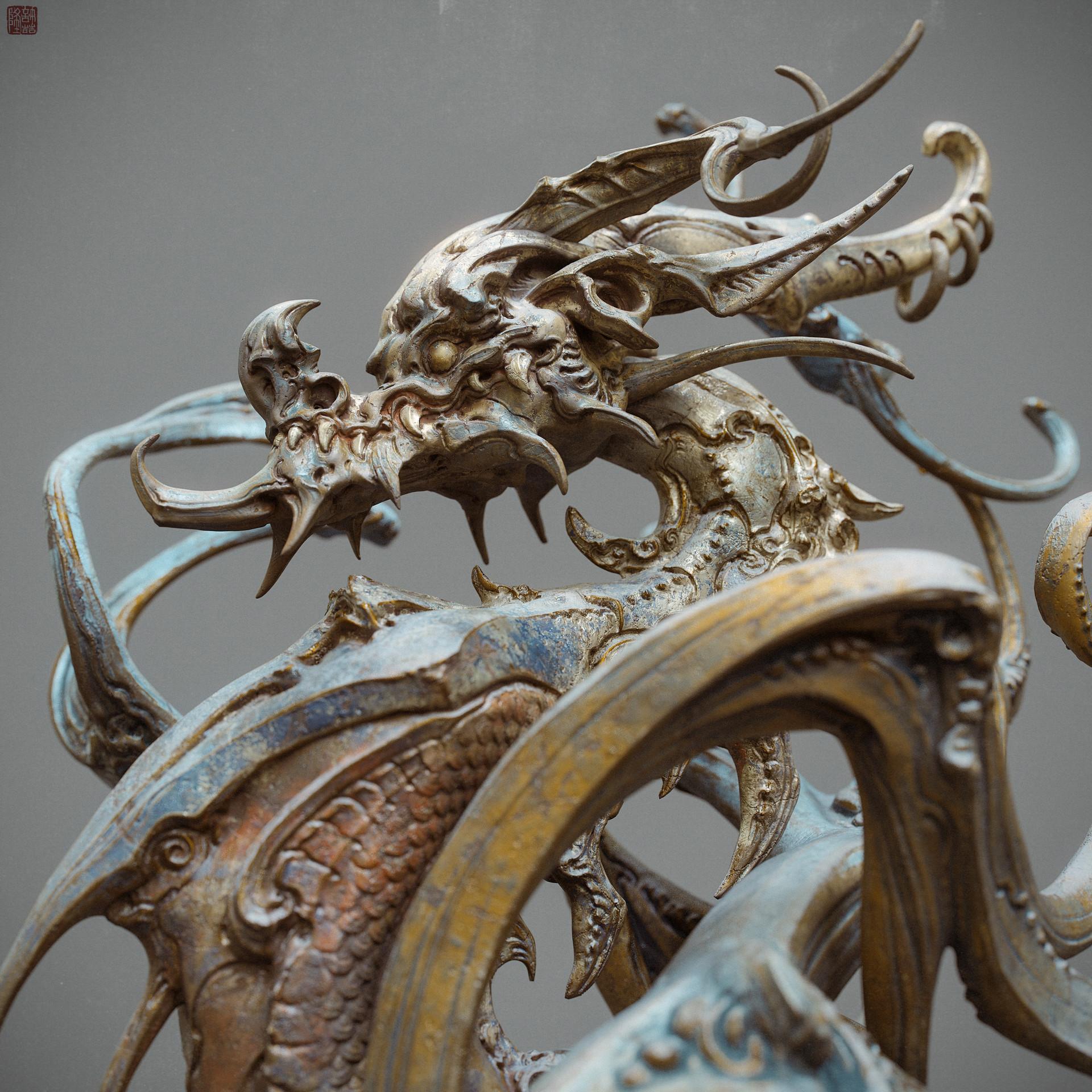 Zhelong xu zhelong xu drgaon statue04 websize
