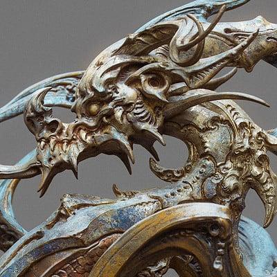 Zhelong xu zhelong xu drgaon statue01 websize