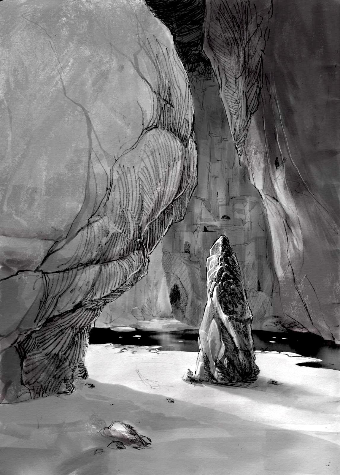 Stijn windig grot