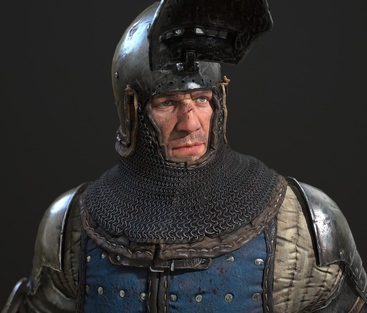 Petr sokolov artpity knight lp portrait