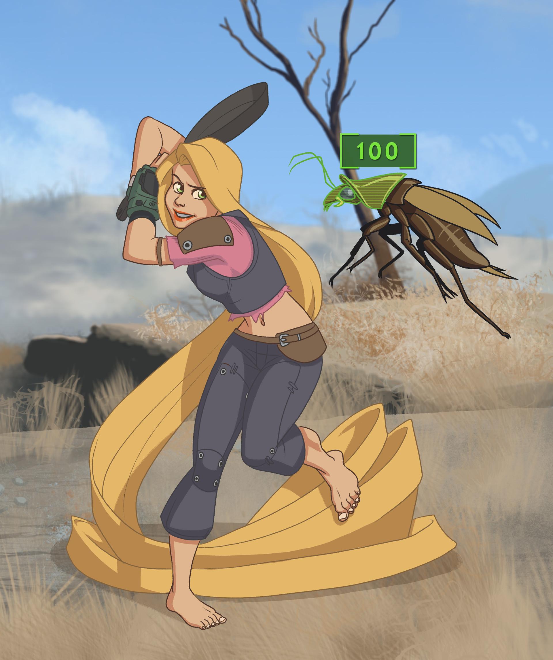 Peter slavik merc adventurer rapunzel